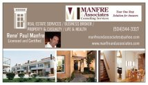 Manfre and Associates Businesss Card Preview